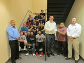 NAIFA Presents Check to LifeLink Students