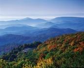 Blue ridge Mtns.