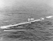 German U-Boats which sank the four merchant ships