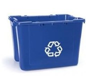 Your blue bin!