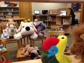 Stuffed Animal Puppet Show!