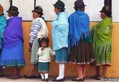 People in Ecuador.