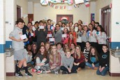 Students Show Solidarity with France