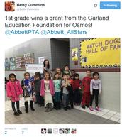 1st grade gets Osmos!