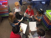 Practicing Reader's Theater.
