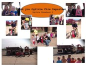 3 and 4 Year Old Preschool Classes Receive a Visit from Ogilvie Fire Department