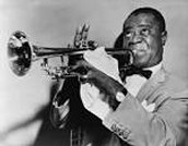 African American Playing the trumpet