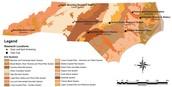 Common soil in NC