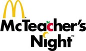 McTeacher's Night - May 2nd!