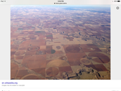 Have you ever  seen Texas from an airplane?