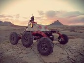 This is a picture of one of the mars rover