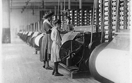 Girls Working at the Mills