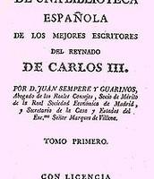 CONSTITUCION ESPAÑOLA DE CARLOS III