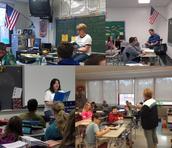 Teachers Reading to Students