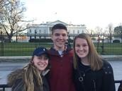 CRHS Seniors (and BOE Reps!) Visit Washington, DC