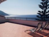 La nostra terrazza vista mare