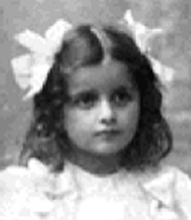 Ayn Rand as a child