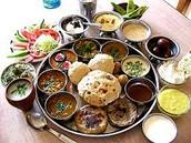 Gujarati thali