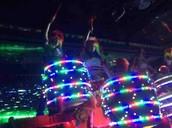 Opening drum beats