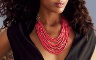 Campari necklace, 128-