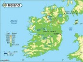 Physical Map (Republic of Ireland)