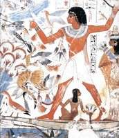 Nebamun Hunting Birds