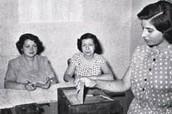 Muller votando