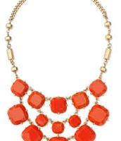 Olivia Bib Necklace. Originally $118, Now $88.50
