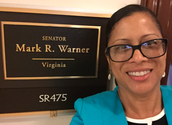 Visiting Senator Mark Warner's Office