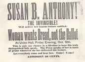 Susan B. Anthony the Invincible!