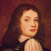 This is William Penn as a young boy.