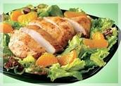Foods in mandarin