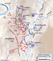 Map of the Battle of Antietam
