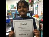 Rakeen Rocked Subtraction!