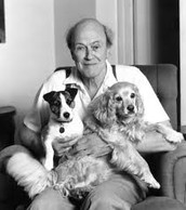 Roald and his dogs
