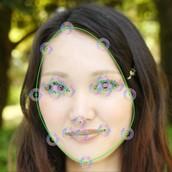 顔1:眼の輪郭モード