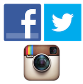 Get the word out with Facebook, Twitter, Instagram, and more!