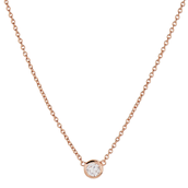 The Wishing Necklace - Rose Gold - $34