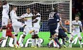 Ibrahimovic Scores Free-Kick