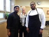 "Chef Witcher (BCIT Westampton) participates in ""Taste of Soul"", in honor of Black History Month"