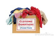 Cleaning Out Old Clothes Since New Are Coming In? LAST DAY TO DONATE IS FRIDAY, 12/18