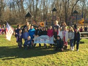 Unveiling the Buddy Bench at Lyman School