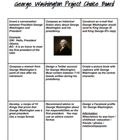 Grade 5 Social Studies & George Washington