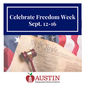 Celebrate Freedom Week and Constitution Day