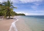 La playa de Costa Rica
