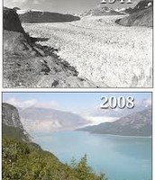 From 1941 to 2008, a glacier.
