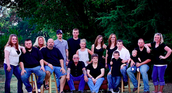 My dads side of family and only the close family