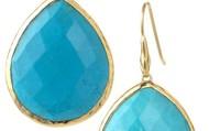 Serenity Stone Drop Earrings - $49