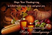 Lots to be Thankful for...