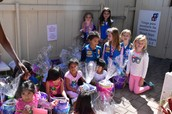 Daisy Troop Delivers Easter Goodies to Head Start